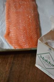 Seasoning the Salmon