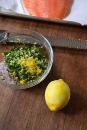 Shallot, Parsley, Lemon Zest