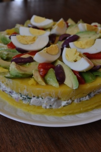 Side View of Causa