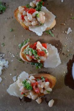 Bruschetta from Above