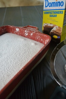 Confectioner's Sugar Sprinkled on Top