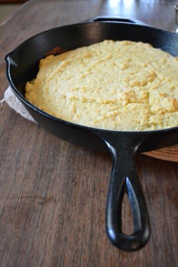 Skillet Cornbread 2