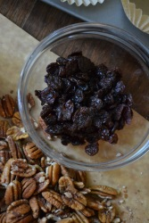 Dried Cherries and Pecans