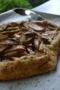 Close-up Rustic Apple Tart