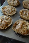 View from Above: Pear, Cherry, and Pecan Muffins