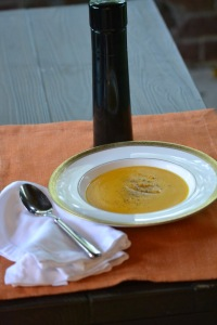 Soup with Pepper mill