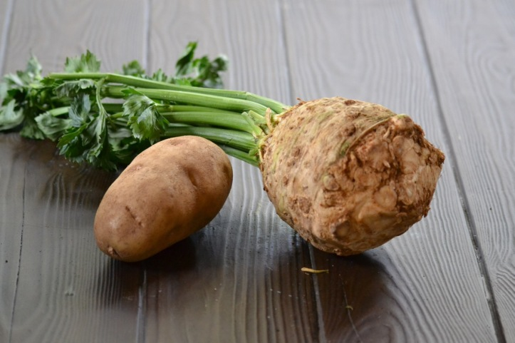 Russet Potato and Celery Root