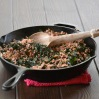 Cast-iron Skillet with Chard and Farro