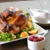 Bourbon-Maple Roasted Turkey with all the Fixins