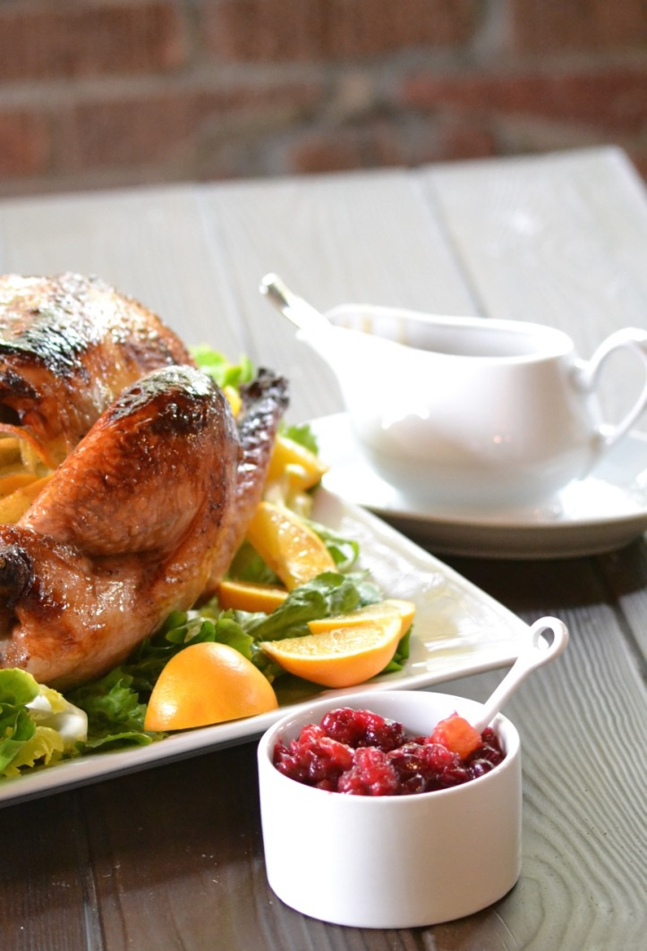 Bourbon-Maple Roasted Turkey