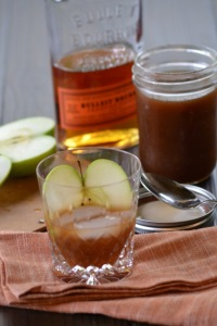 Bourbon with Apple Cider Syrup Cocktail