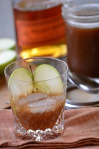 Thanksgiving Bourbon Cocktail with Apple Cider Syrup