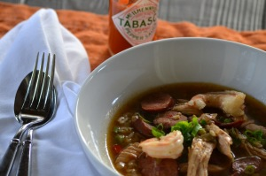 Close-up of Gumbo