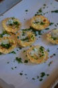 Baked Brie Bites with Parsley & Almonds