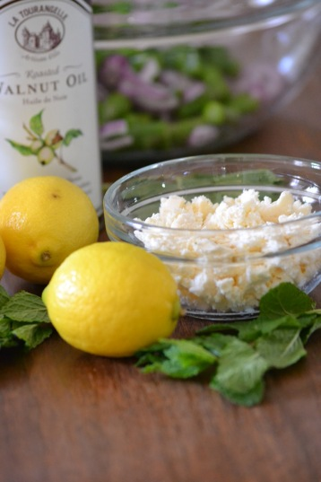 Feta Cheese, Mint and Lemons (www.mincedblog.com)
