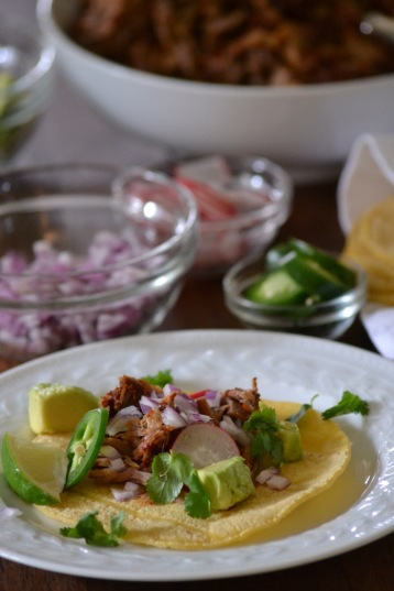 Mexican-Inspired Slow Cooker Pulled Pork Taco (www.mincedblog.com)