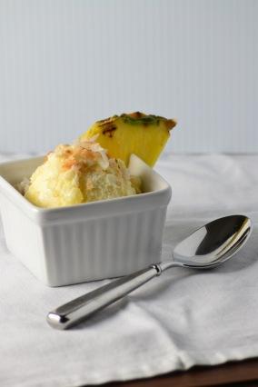 Pina Colada Ice Cream (www.mincedblog.com)