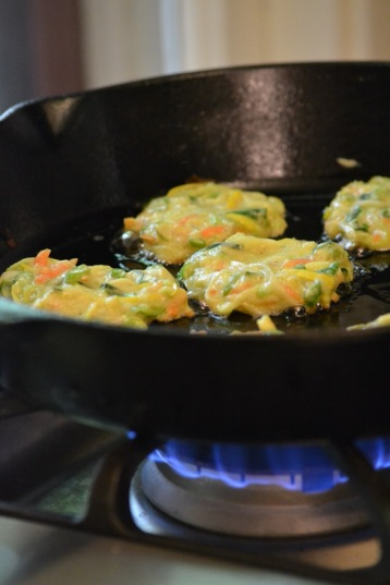 Vegetable Fritters (www.mincedblog.com)