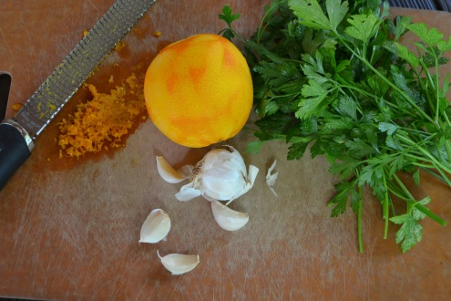 Pork Chops with Gremolata Butter (www.mincedblog.com)