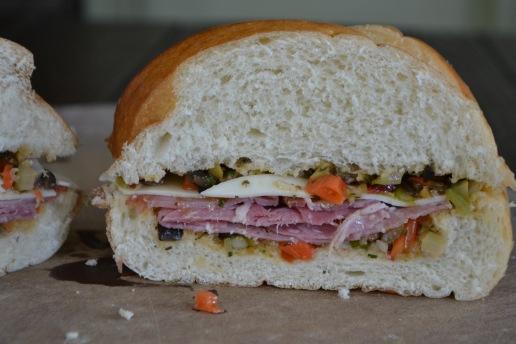 Muffuletta Sandwiches (www.mincedblog.com)