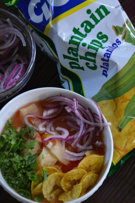 Encebollado with Chifles (www.mincedblog.com)