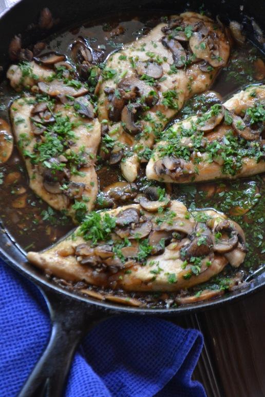 Chicken Marsala (www.mincedblog.com)