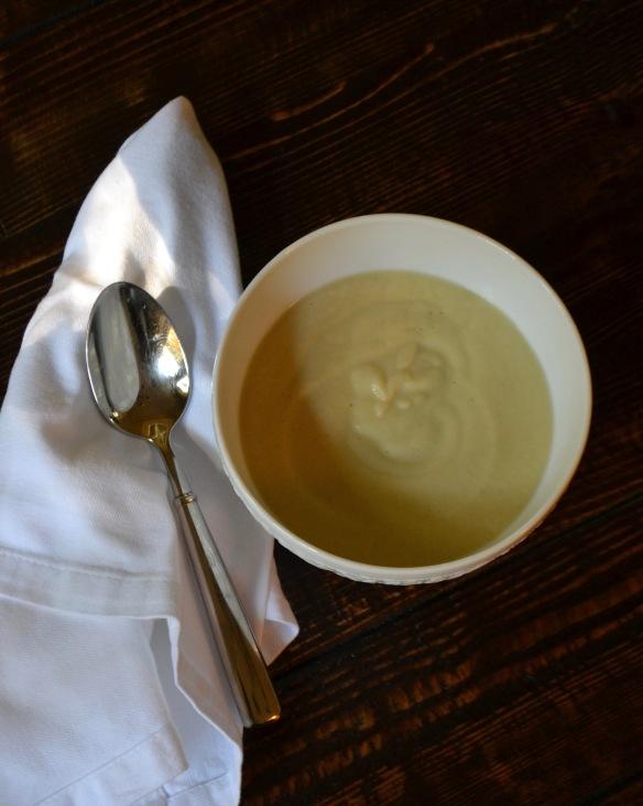 Cream of Celery Root Soup (www.mincedblog.com)