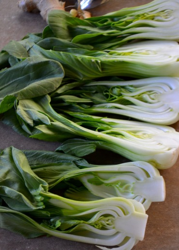 Braised Bok Choy with Garlic and Ginger (www.mincedblog.com)