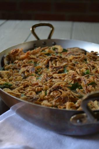 Homemade Green Bean Casserole (www.mincedblog.com)