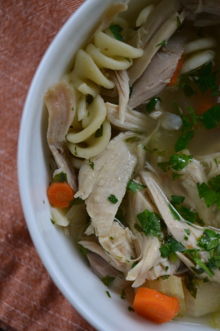 Hearty Chicken Noodle Soup (www.mincedblog.com)