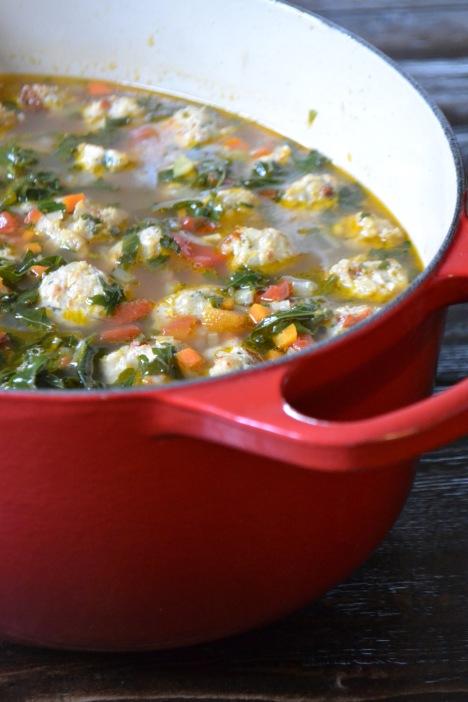 Chicken Meatball Soup (www.mincedblog.com)